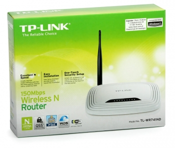 ROUTER WIRELESS LITE-N + ACCESS POINT+SWITCH 4 PORTE FIREWALL 150MBPS [TL-WR741ND]