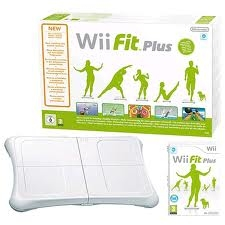NINTENDO WII FIT PLUS + BALANCE BOARD WII FIT PLUS